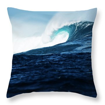 Cloudbreak Empty 2 Throw Pillow