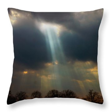 Cloudbreak Throw Pillow