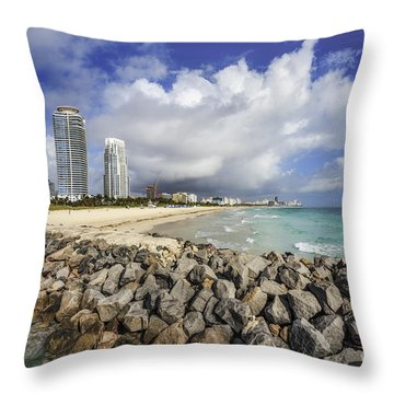Cloudburst Throw Pillow