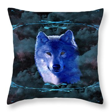 Clouded Dreams Throw Pillow