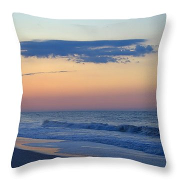 Clouded Pre Sunrise Throw Pillow