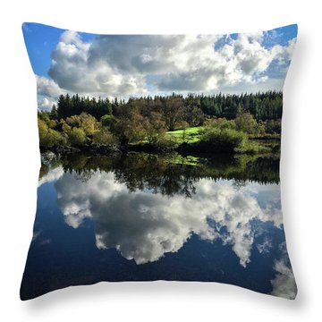 Clouded Visions Throw Pillow