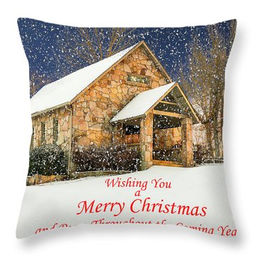 Cloudland Presbyterian Church  Throw Pillow