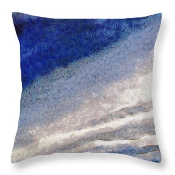 Clouds 10 Throw Pillow
