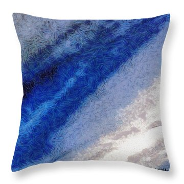 Clouds 11 Throw Pillow