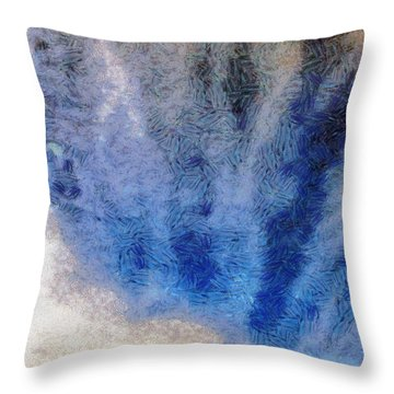 Clouds 12 Throw Pillow