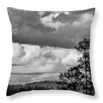 Clouds 2 Throw Pillow