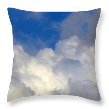 Clouds After The Rain Throw Pillow