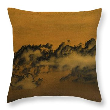 Throw Pillow featuring the photograph Clouds by Chris Armytage