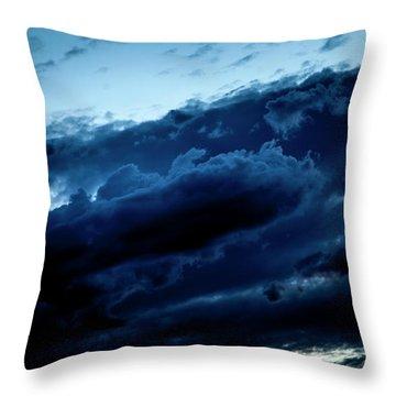 Clouds Fall Throw Pillow