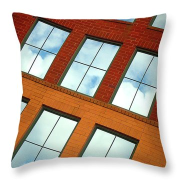Clouds In The Windows Throw Pillow