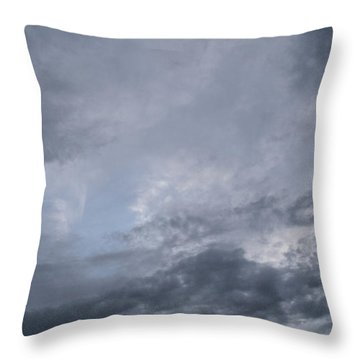 Throw Pillow featuring the photograph Clouds by Megan Dirsa-DuBois