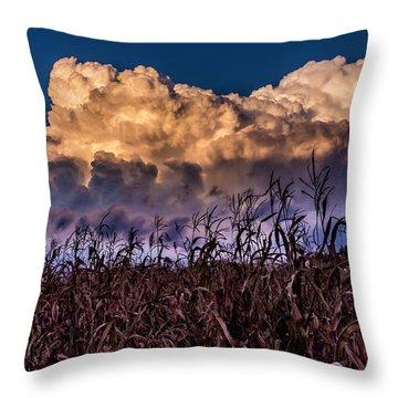 Clouds Over Fagagna Throw Pillow