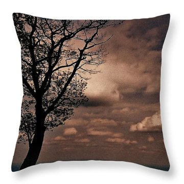 Clouds Over Shenandoah Throw Pillow