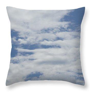 Clouds Photo II Throw Pillow