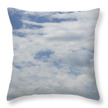 Clouds Photo IIi Throw Pillow