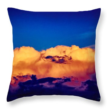 Clouds Vi Throw Pillow