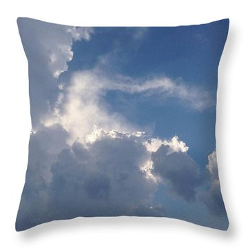 #cloudscape Throw Pillow