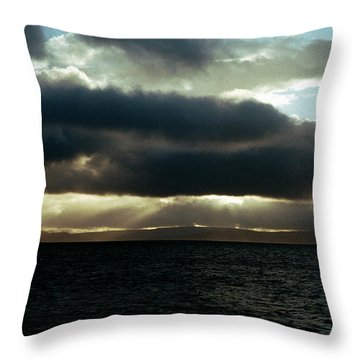 Cloudscape Throw Pillow
