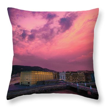Cloudy  Throw Pillow by Mariusz Czajkowski