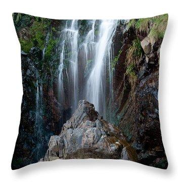 Clovelly Waterfall Throw Pillow