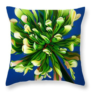 Clover Clarification Indoctrination Throw Pillow