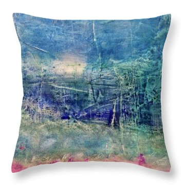 Clover Field Throw Pillow