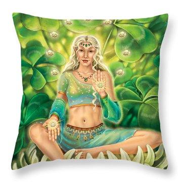 Clover - Gentle Strength Throw Pillow