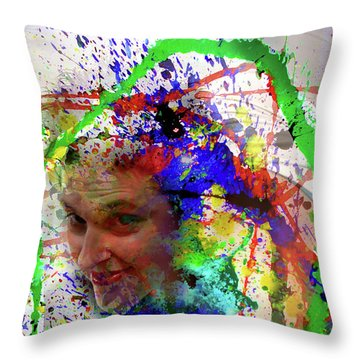 Clown ? Throw Pillow