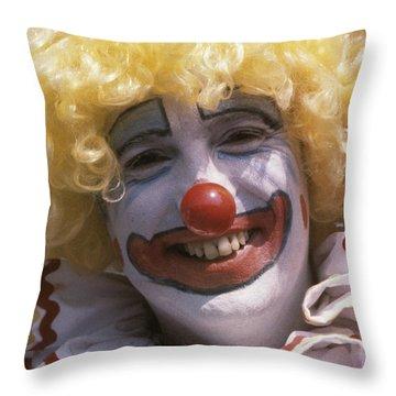 Clown-1 Throw Pillow