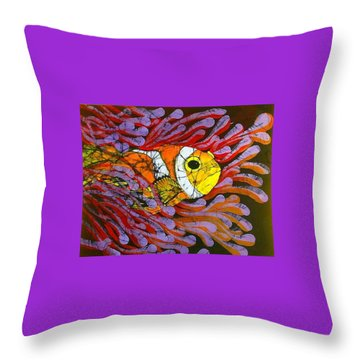 Clownfish I  Throw Pillow