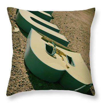 Throw Pillow featuring the photograph Club by Mary Hone