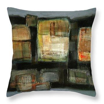 Club Throw Pillow by Behzad Sohrabi