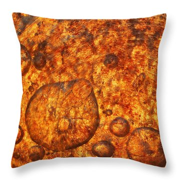 Throw Pillow featuring the photograph Clustering by Sami Tiainen