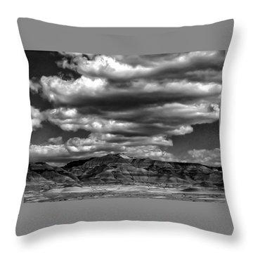 Throw Pillow featuring the photograph Coal Canyon by Louis Dallara