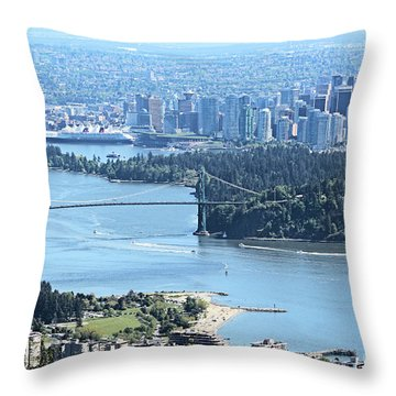 Coal Harbour Throw Pillow
