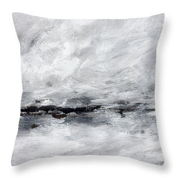 Coast #13 Throw Pillow