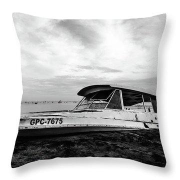 Coast Guardin  Throw Pillow