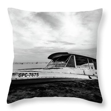 Coast Guardin  Throw Pillow
