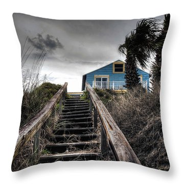 Coast Throw Pillow by Jim Hill