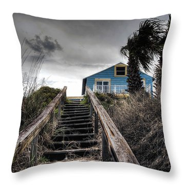 Coast Throw Pillow