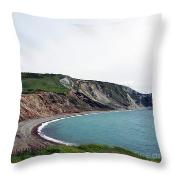 Coastal Arch Throw Pillow