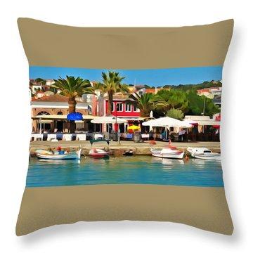 Coast Of Turkey Throw Pillow