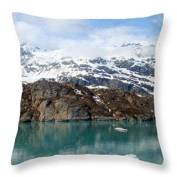 Coastal Beauty Of Alaska 5 Throw Pillow