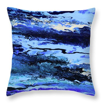 Coastal Breeze Throw Pillow by Ralph White