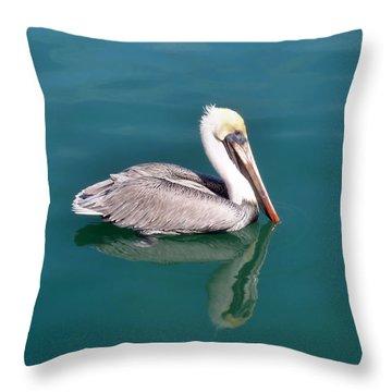 Coastal Cruiser Throw Pillow