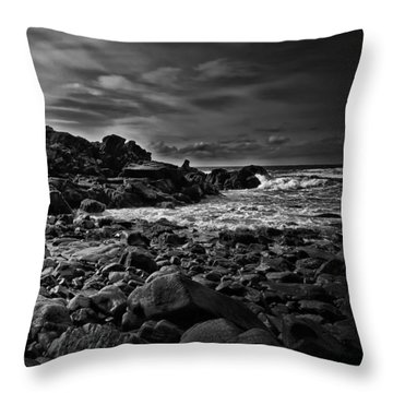 Coastal Home  Kennebunkport Maine Throw Pillow