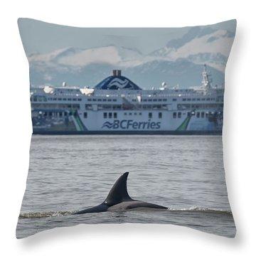 Coastal Inspiration Throw Pillow