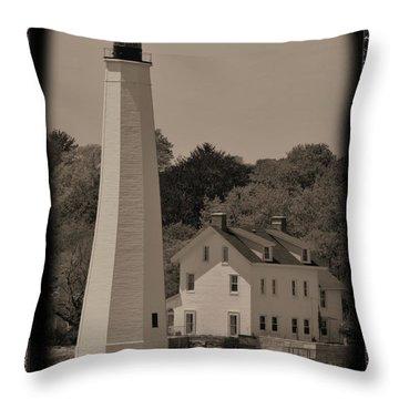Coastal Lighthouse 2 Throw Pillow