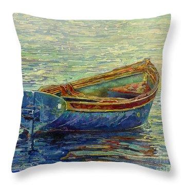 Coastal Lullaby Throw Pillow